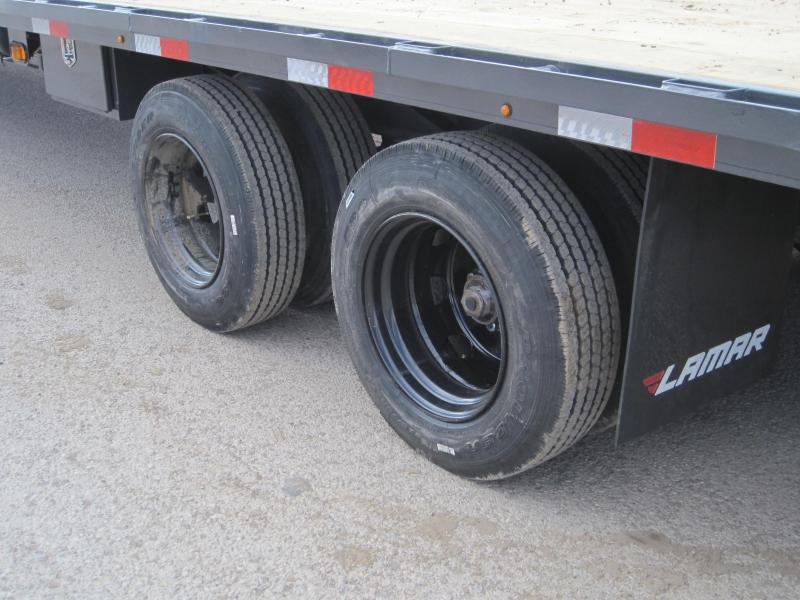 ** On Sale- Lamar 40ft Hot Shot- Air Ride- EOH Disc Brakes- 17.5inch/16ply Tires- Sliding Strap Ratchets- 25K 2 speed Jost Jacks- Top Wind Coupler- Rhino/Mega Ramps- Under Frame Bridging- Torque Tube- **Free Spare