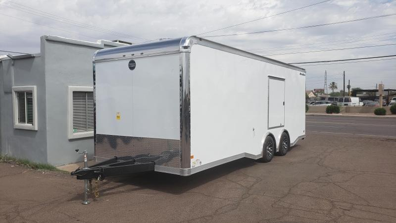2019 Wells Cargo 24ft MotorTrac Enclosed Racing Cargo Trailer