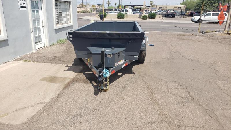 Lamar Mini Dump Trailer- 5x10- 9990# GVWR- Ramps- Deluxe Tarp Kit- Adj Coupler- FREE SPARE TIRE- DELIVERY AVAILBLE-Cash Discounts (See Below)