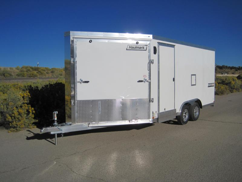 2020 Haulmark Venture Motorcycle Snowmobil Sled Enclosed Racing Trailer