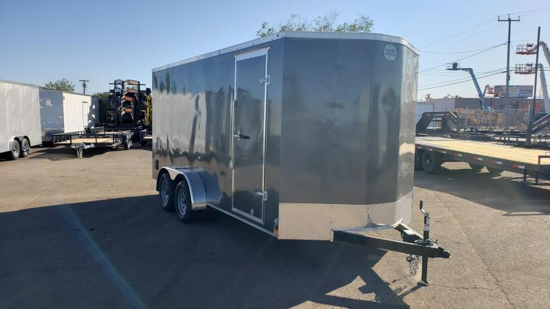 2020 Wells Cargo FT716T2-D Enclosed Cargo Trailer