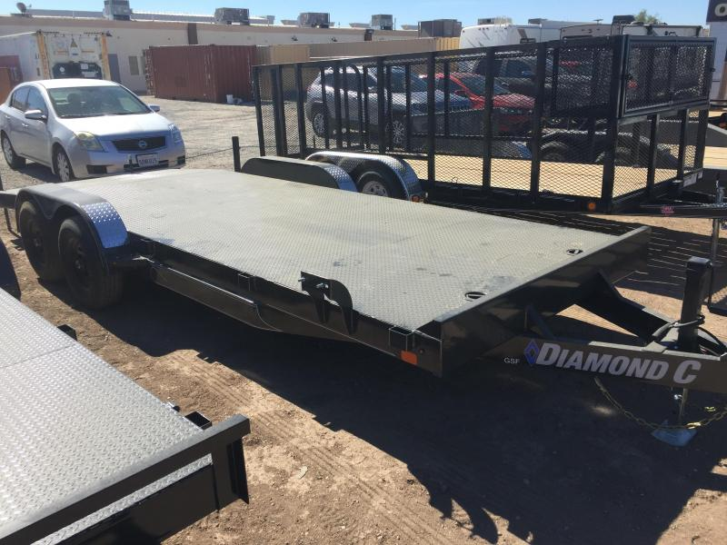 2019 Diamond C Trailers GSF 252 20X83 10K Car / Racing Trailer