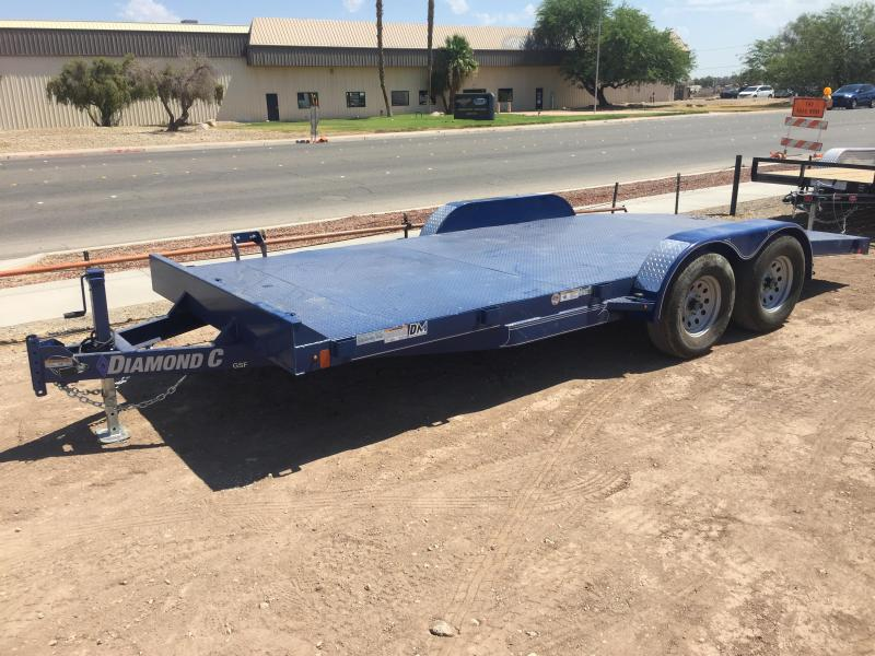 2019 Diamond C Trailers GSF 235 18X83 Car / Racing Trailer