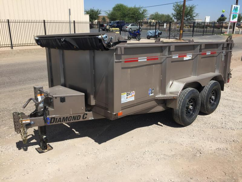 2019 Diamond C Trailers EDM 12X77 32IN SIDES Dump Trailer