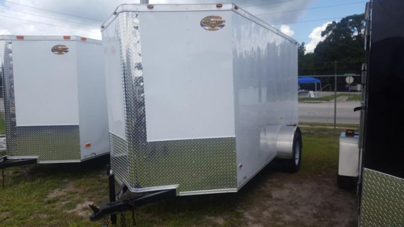 2017 Commander Series 6 x 12 Enclosed Cargo Trailer
