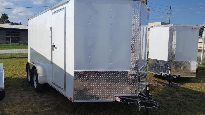 2019 7 X 16 Enclosed Cargo Trailer (Commander Series)