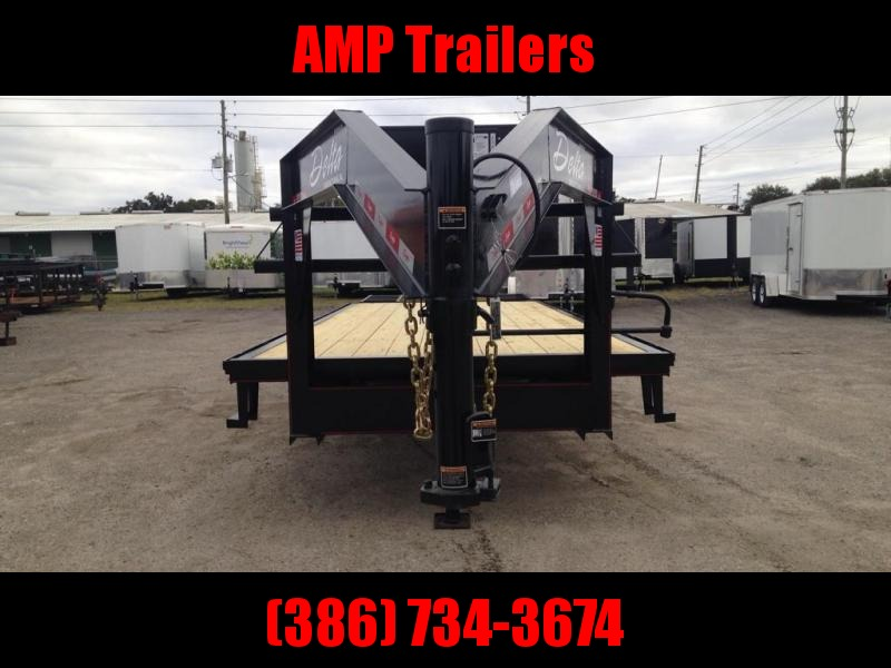 2019 102x25 7 ton Goose Neck Equipment Trailer