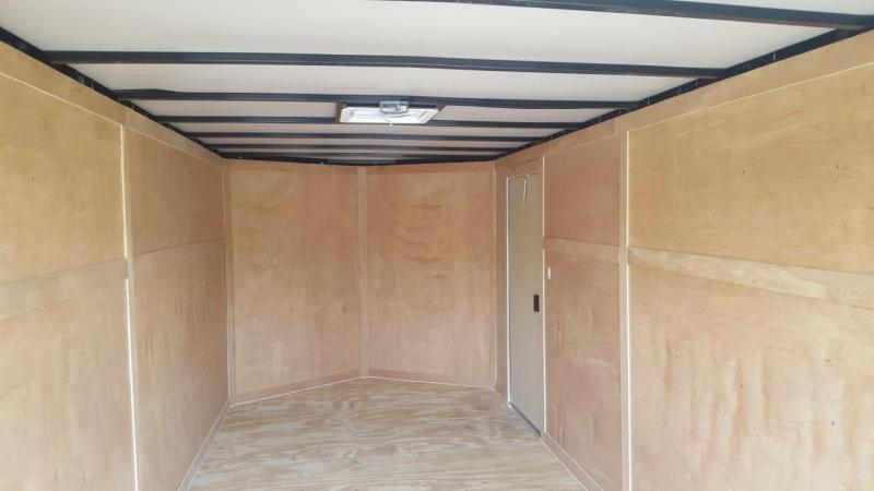 2019 6x12 Enclosed Cargo Trailer (Blacked Out Edition)