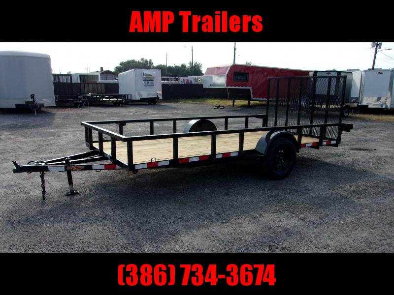 "2019 Down 2 Earth SINGLE AXLE 76""x14' Utility Trailer"