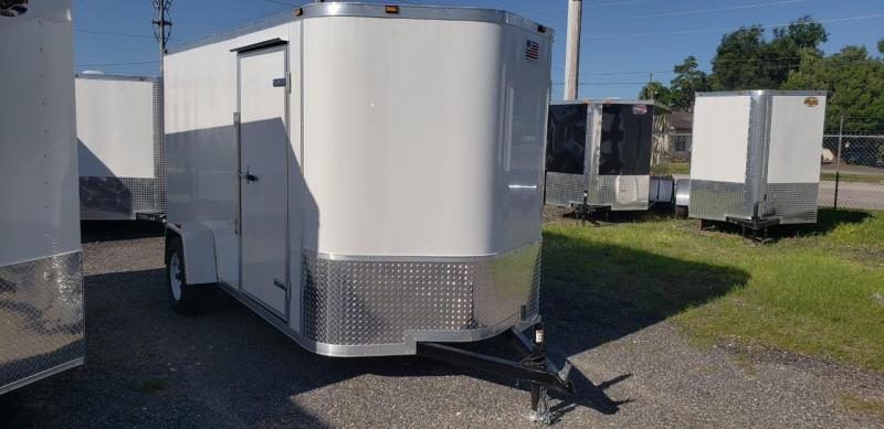 2018 6x12 Enclosed Cargo Trailer (AMP CARGO)