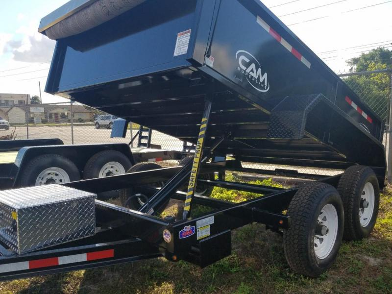2017 Cam Superline 6 x 10 Dump Trailer