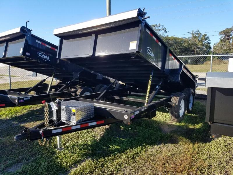 2017 Cam Superline 7 X14 Dump Trailer