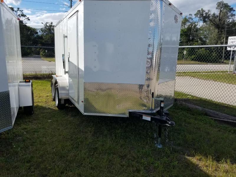2019 7X12 Enclosed Cargo Trailer (Commander Series)