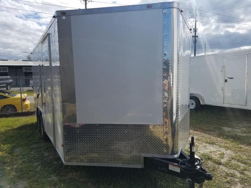 2017 8.5 X 16 Enclosed Cargo Trailer (Commander Series)