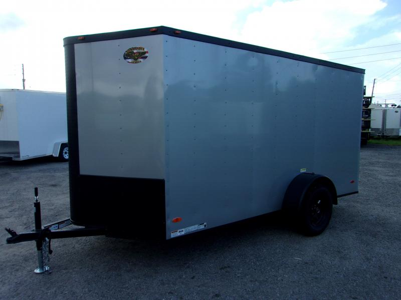 2019 6X12 Single Axle Cargo COMMANDER SERIES Cargo Trailer