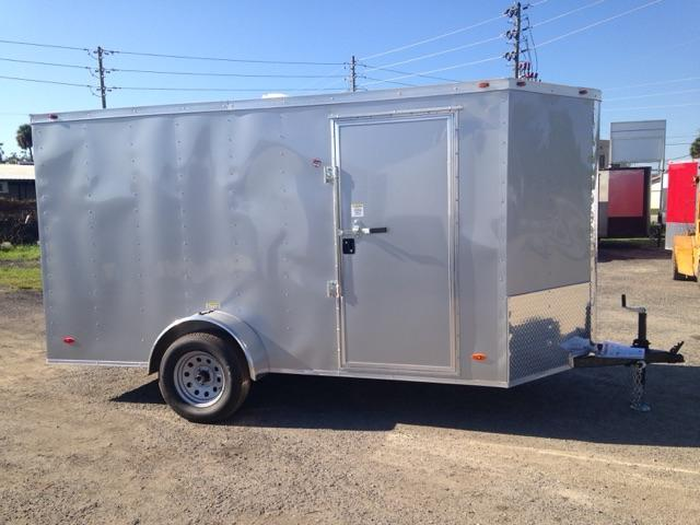 2019 6X12 Single Axle Cargo COMMANDER SERIES Enclosed Cargo Trailer
