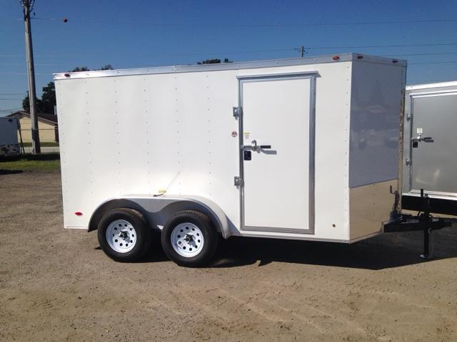 2019 6x12 COMMANDER SERIES Tandem Axle Cargo Trailer