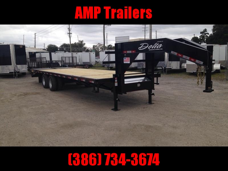 "2019 25'x102"" 10 ton Gooseneck Equipment Trailer"