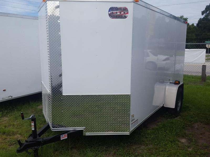 2018 6 x 12 Enclosed Cargo Trailer (General Series)