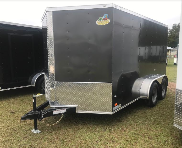 2018 Covered Wagon Trailers 7x12TA Enclosed Cargo Trailer