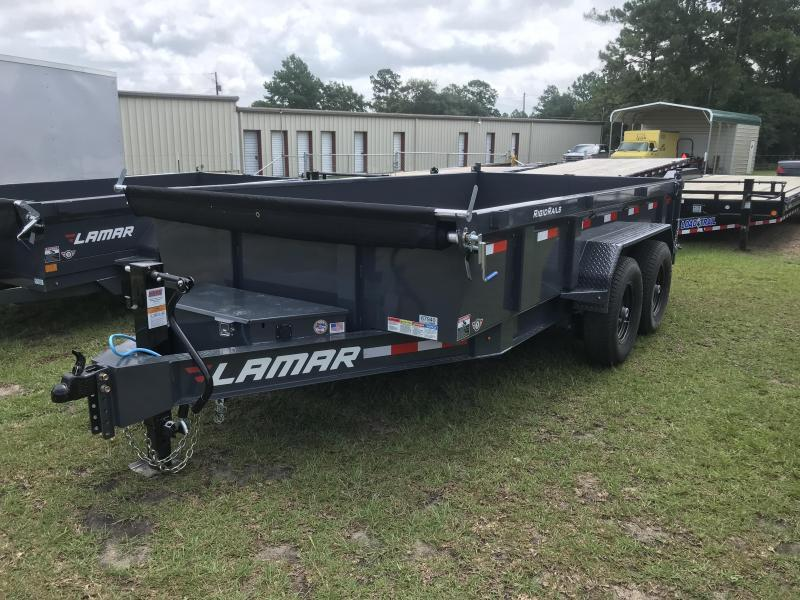 2018 Lamar Trailers 83x14 Low-pro Dump Trailer