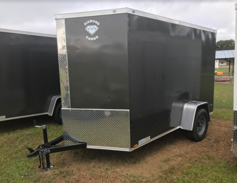 2018 Diamond Cargo 6x10SA Enclosed Cargo Trailer