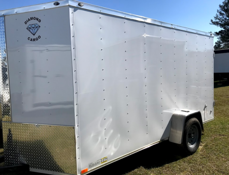 2018 Diamond Cargo 6x12SA Enclosed Cargo Trailer