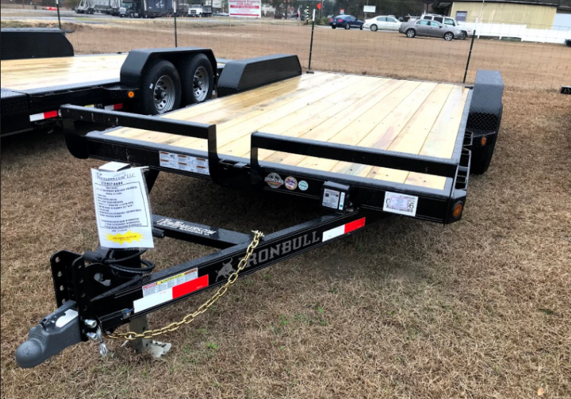2018 Iron Bull 83x16 Equipment Trailer