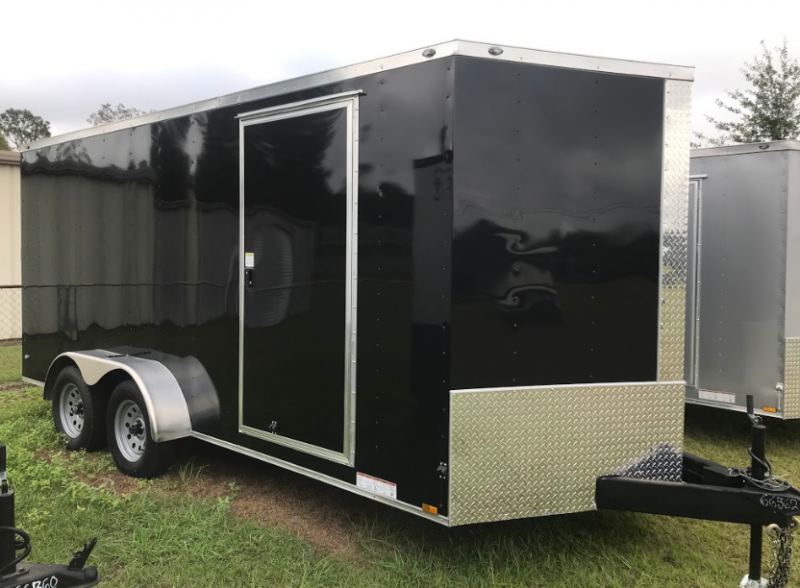 2018 Diamond Cargo 7x16TA Enclosed Cargo Trailer