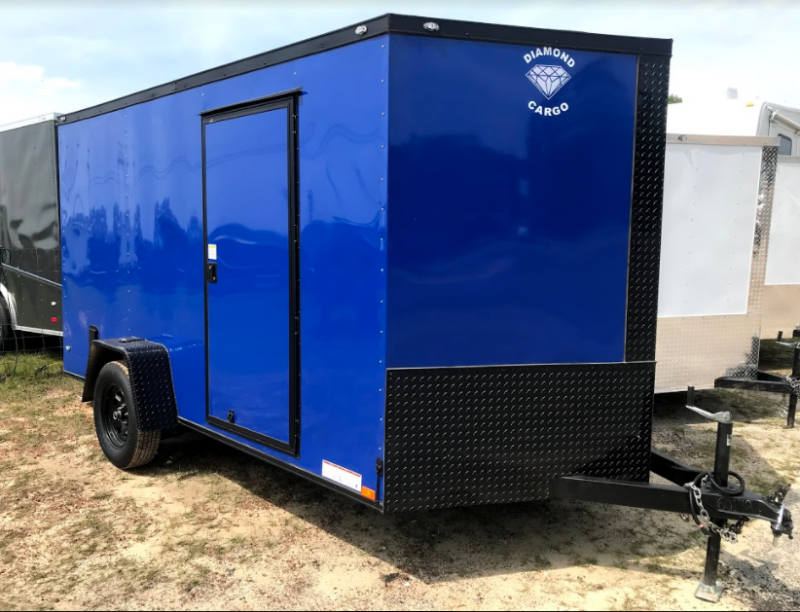 2018 Diamond Cargo 7x12 SA Enclosed Cargo Trailer