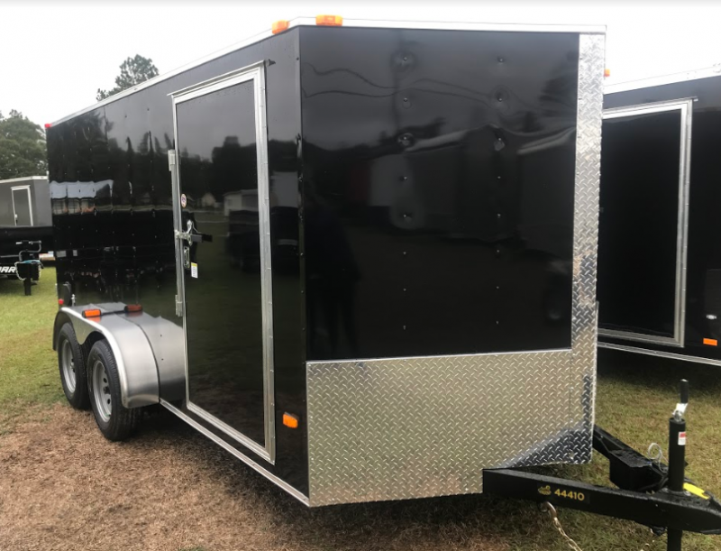 2018 Covered Wagon Trailers 7x14TA Enclosed Cargo Trailer