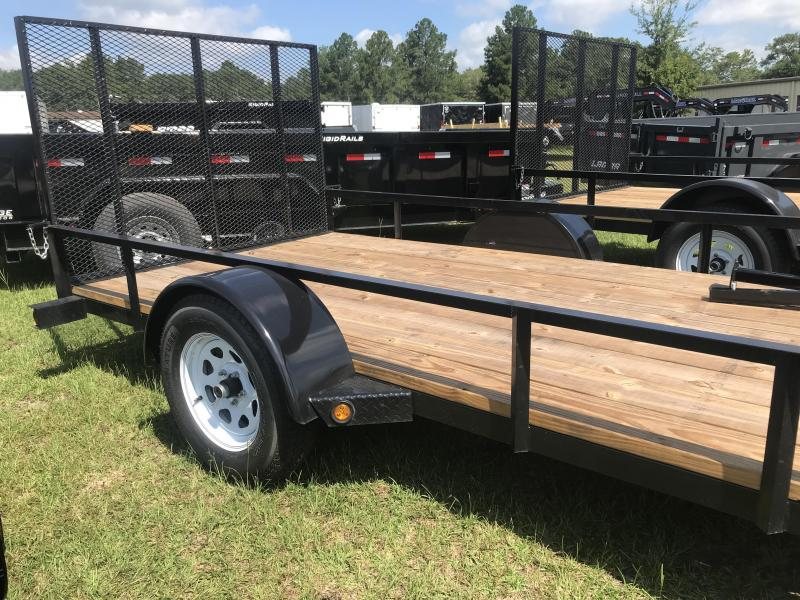 2018 MidSouth 6x12SA drop axle Utility Trailer