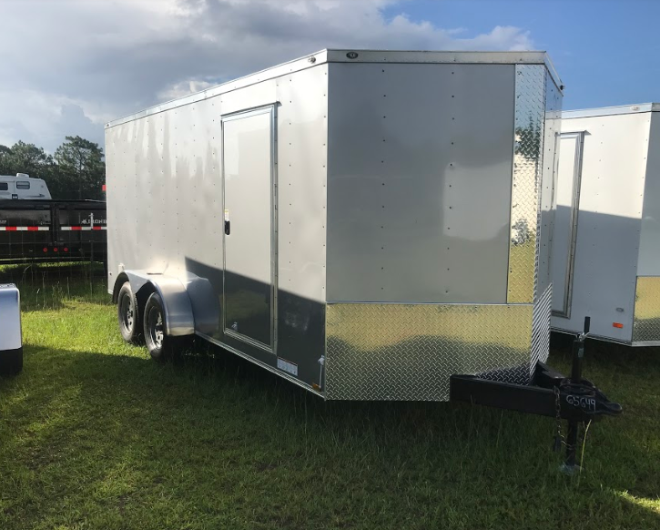 2018 Diamond Cargo 7x16 Enclosed Cargo Trailer