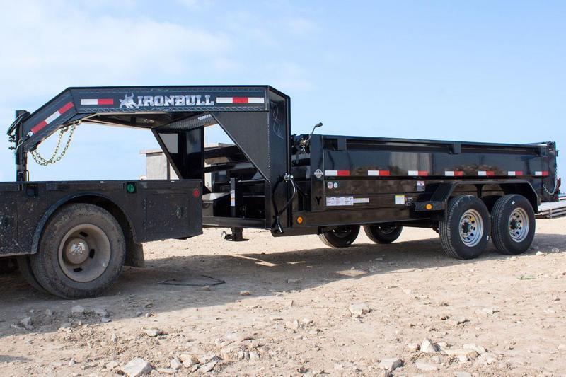 2018 Iron Bull 83x14 Goose Dump Trailer