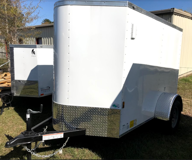 2018 Continental Cargo 5x8SA Enclosed Cargo Trailer