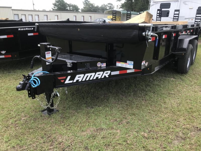 2018 Lamar Trailers 83x16 Low-pro Dump Trailer