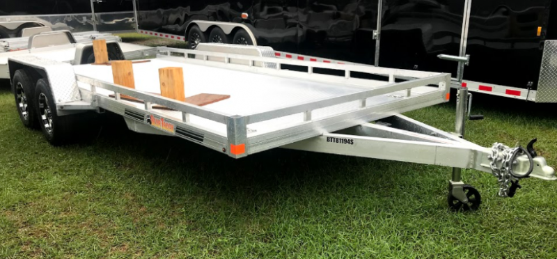 2018 Bear Track Products 6.75x18 TA Utility Trailer