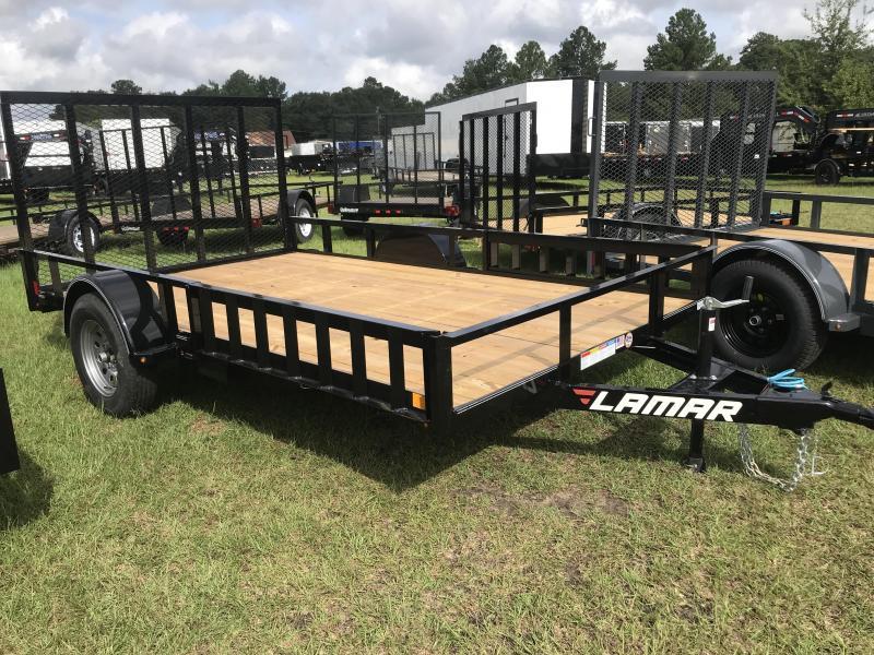 2018 Lamar Trailers 83x12UT Utility Trailer