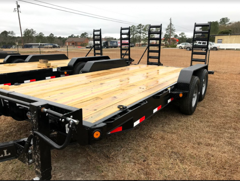 "2018 Iron Bull 83""x18' Equipment Trailer"
