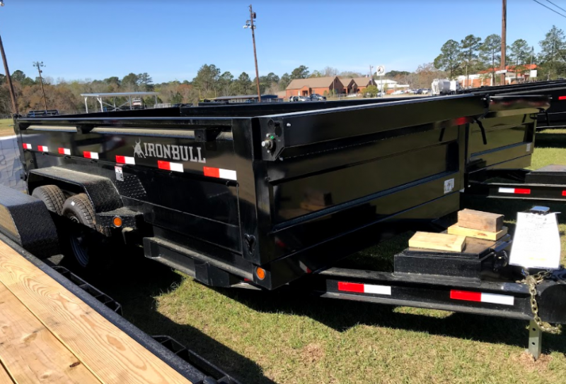 2018 Iron Bull DT 83 x 14 Dump Trailer