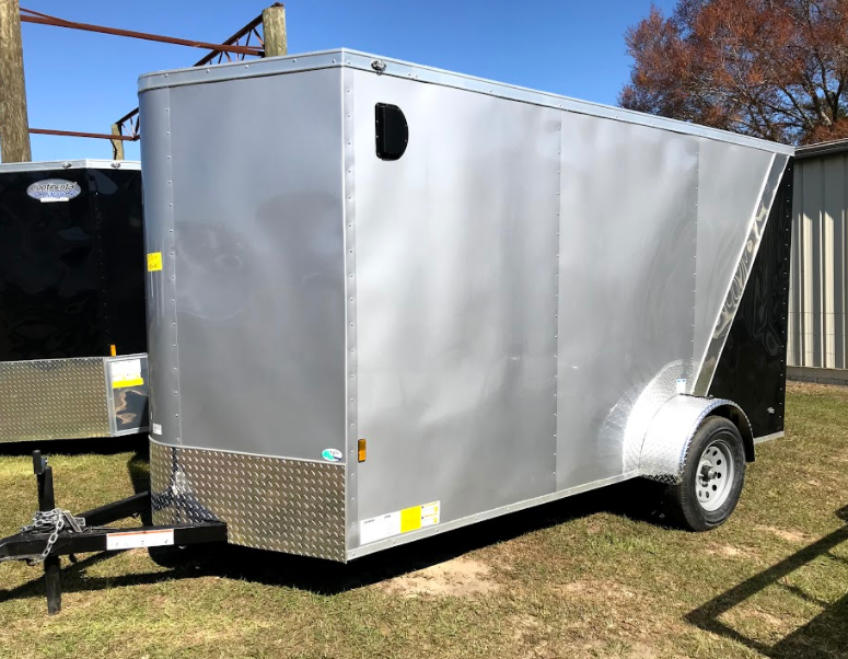 2018 Continental Cargo 6x12SA Enclosed Cargo Trailer