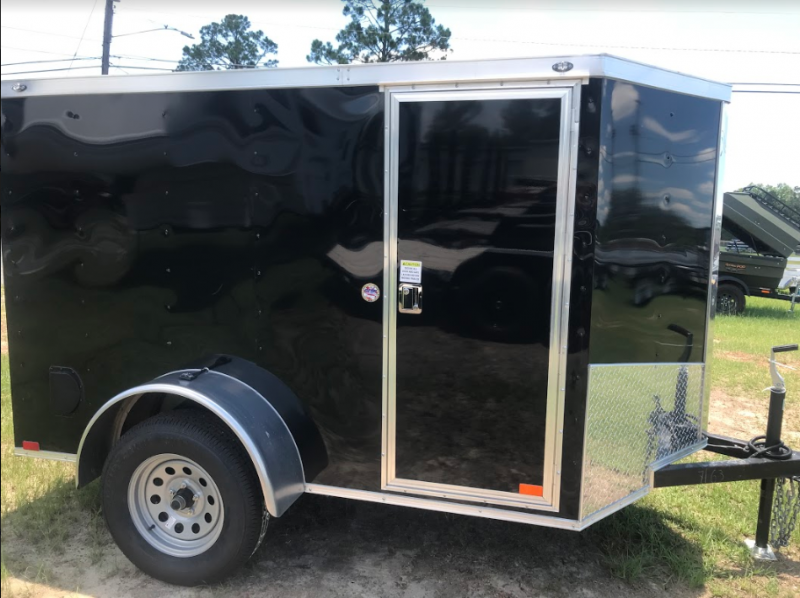 2018 Spartan 5x8SA Enclosed Cargo Trailer