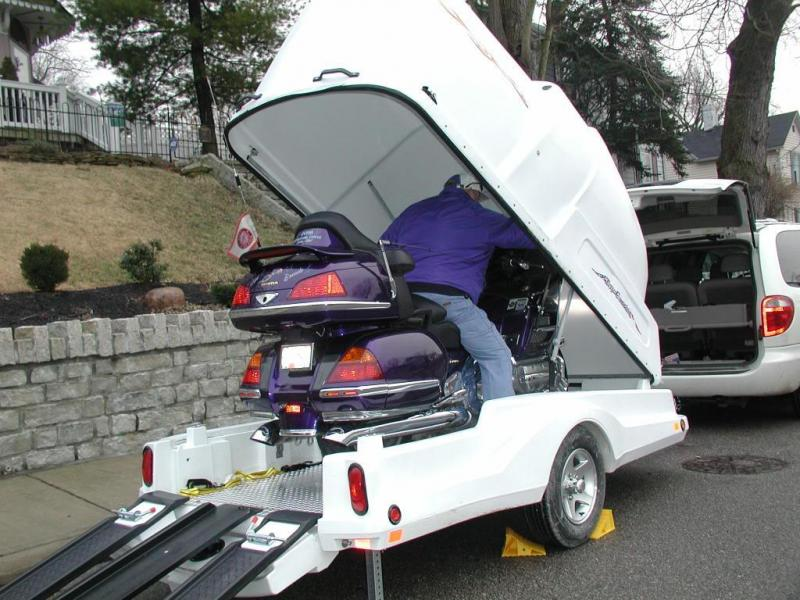 2017 Other Toy Hauler Motorcycle Trailer