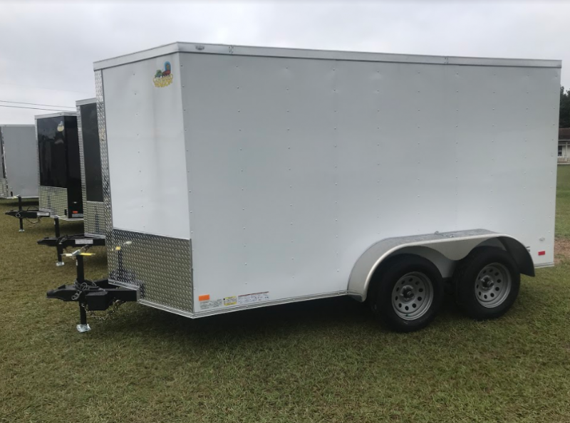 2018 Covered Wagon Trailers 6x12TA Enclosed Cargo Trailer