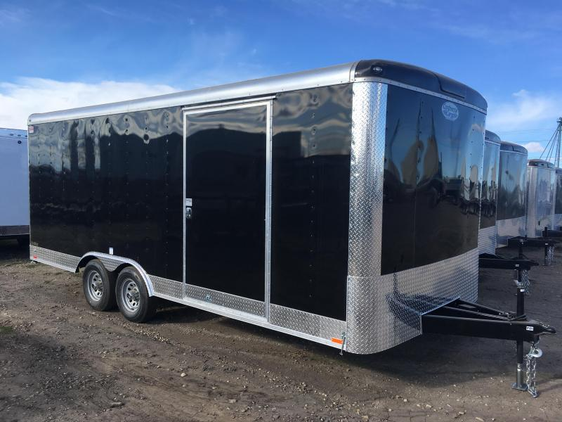 2019 Continental Cargo Trailer 20' with Ramp 5200# Axles