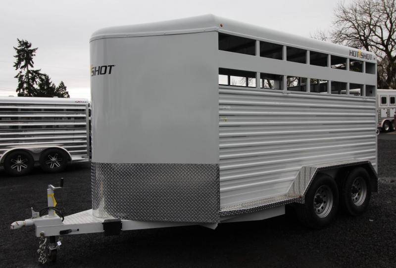 2019 Trails West HotShot 14ft Livestock Trailer