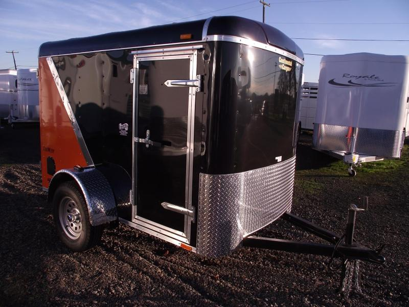 2014 Continental Cargo Tailwind 5x8 Trailer - Added Height