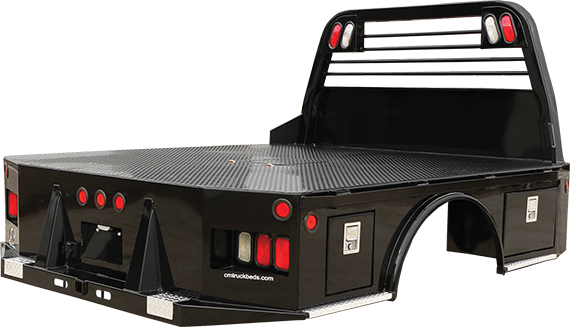 CM Truck Bed SK Model w/ Two Lockable Toolboxes