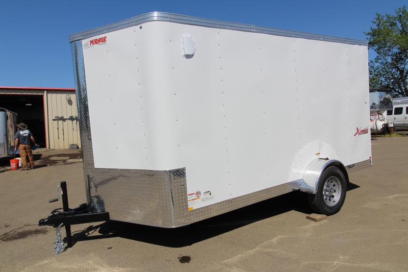 2019 Mirage Trailers Xpres- 7x12 Enclosed Cargo Trailer