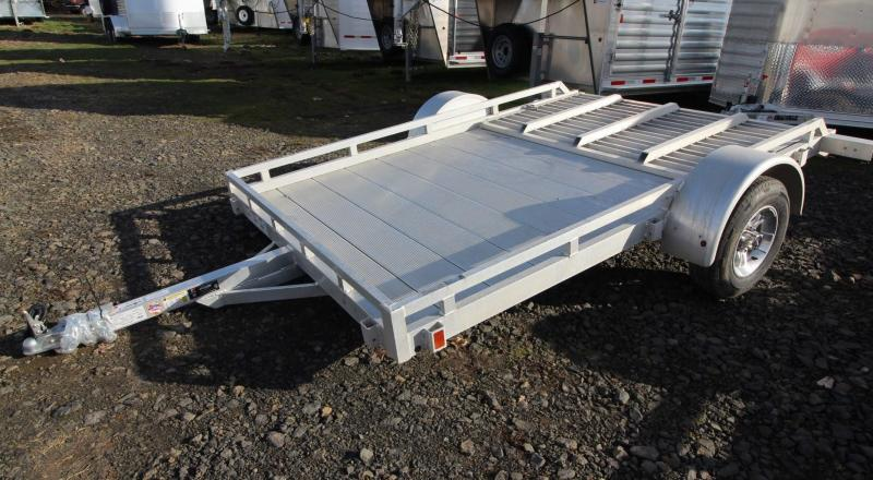 2019 Featherlite 1693 Flatbed 10ft utility Trailer